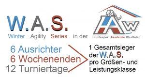 W.A.S. - Winter Agility Series 2017/18 @ Hundesport Akademie Westfalen | Lübbecke | Nordrhein-Westfalen | Deutschland